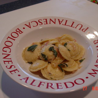 Oh Baby Ravioli with Brown Butter and Sage Sauce