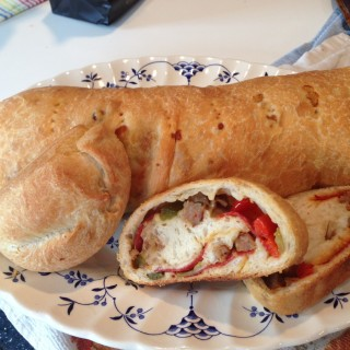Looking for a Game Time Snack? Try this Stromboli!