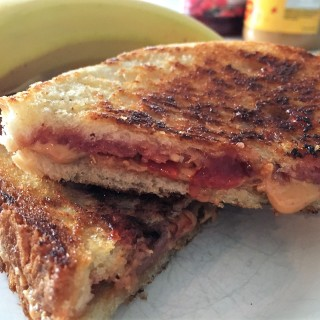 Grilled Peanut Butter &  Jelly – Is that Italian?
