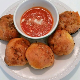 Sandro's Pepperoni Pizza Bombs