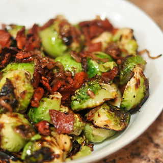 Another Christmas Side – Brussel Sprouts