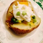 Loaded Baked Potato and Being Irish